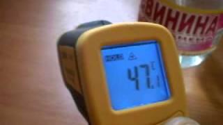 Инфракрасный термометр в работе.(, 2011-09-23T05:49:01.000Z)