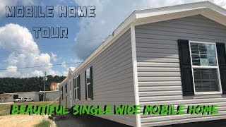 Beautiful Single Wide Mobile Home! 16x82 3 bed 2 bath Marlette The Sanders | Mobile Home Masters