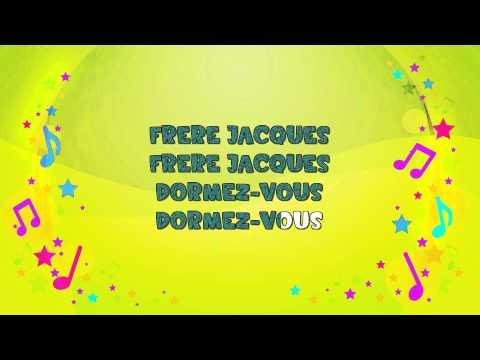Frere Jacques | Karaoke | Frère Jacques | Nursery Rhyme | KiddieOK