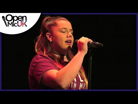 WHAT ABOUT US – P!NK performed by ELISHA LANG at Open Mic UK music competition