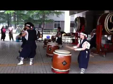 Taiko(drum) group from an evacuation zone in Fukushima