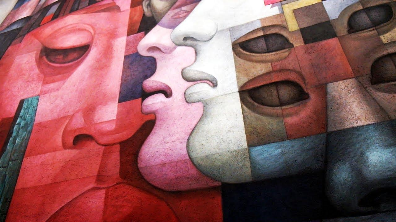 88 mural en la universidad de concepci n atlas vivo de for Mural metro u de chile