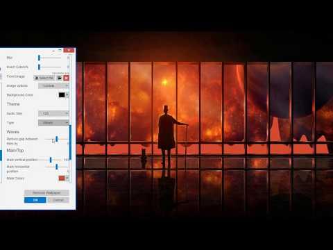 Simplistic Audio Visualizer Editing