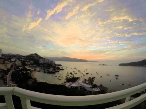 Morning Timelapse at Acapulco Mexico