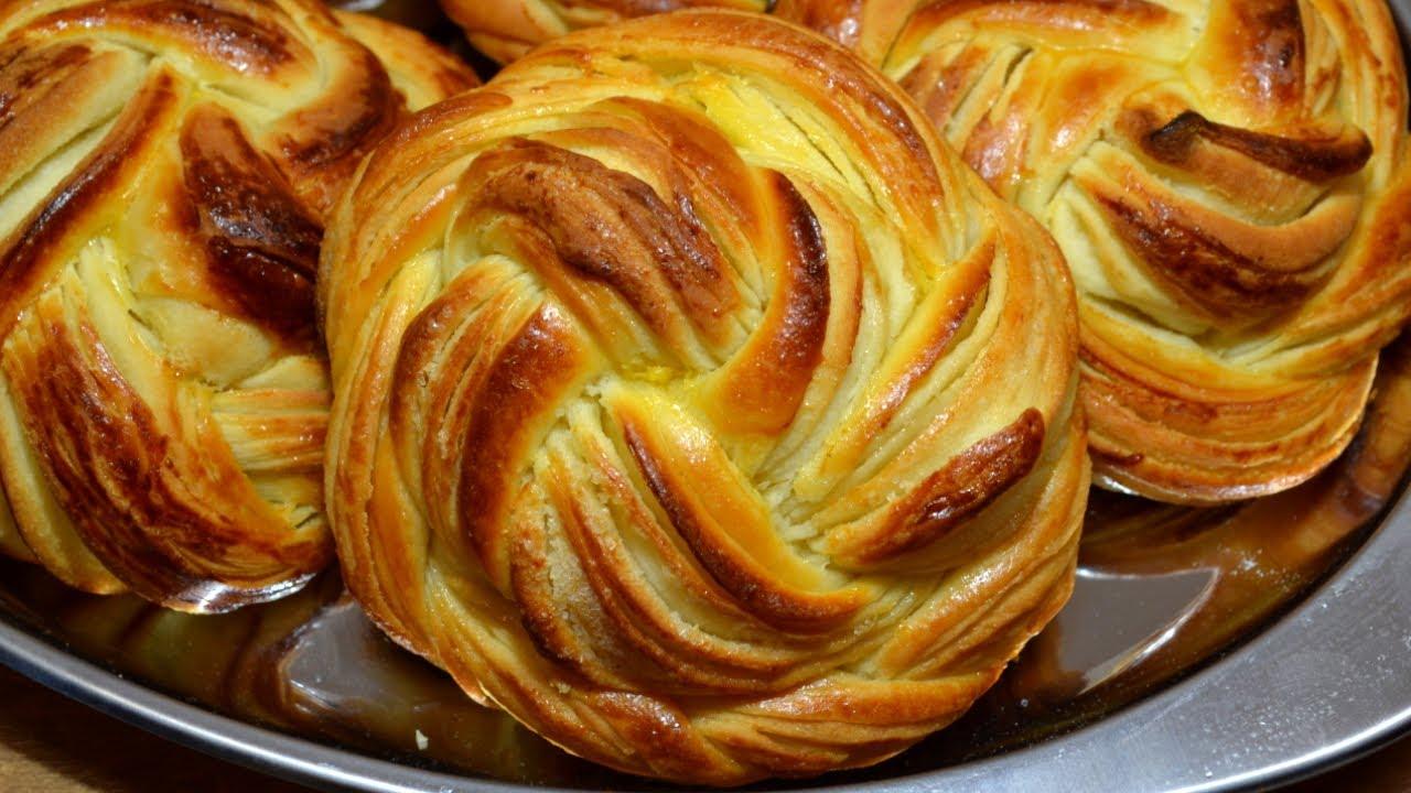 Рецепт нежных домашних булочек пошагово с фото