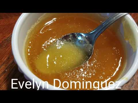 How to make caramel sauce for flan