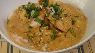Prawn Pineapple Thai Curry
