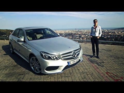 Torie test drives the new E-Class with Intelligent Drive - Mercedes-Benz original