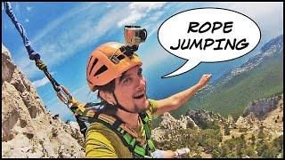 ROPE JUMPING. Ай-Петри, 100 Метров Свободного Падения! (Rock