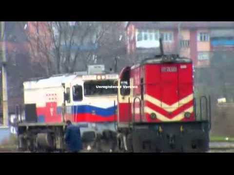 Çift Tren (Blok Tren): 1. Tren DE33000 + DE22075 Loko &  2. Tren DE24000 Loko