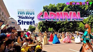 CARNIVAL Hanoi Walking Street 2017 💃🏻l SÔI ĐỘNG LỄ HỘI CARNIVAL TẠI PHỐ ĐI BỘ HỒ GƯƠM - MINMIN TV