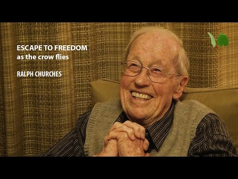 Ralph Churches - Escape to Freedom, as the crow flies