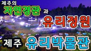 제주의 자연경관과 신비한 유리정원!!! [제주 유리 박…