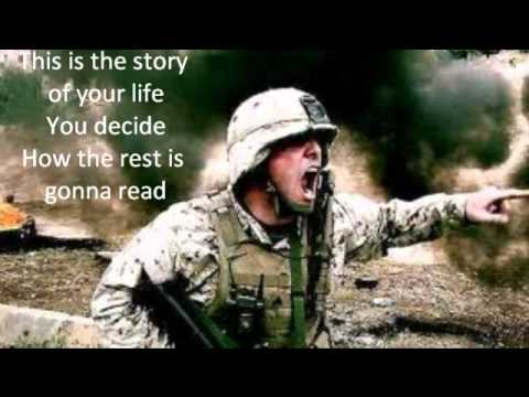 Matthew West The Story of Your Life Troops slide w/ lyrics