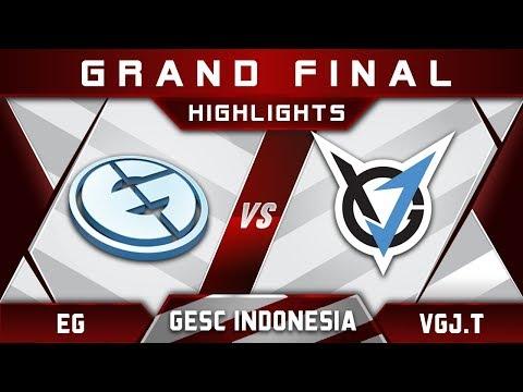 Download Youtube: EG vs VGJ.T Grand Final GESC Indonesia 2018 Minor Highlights Dota 2