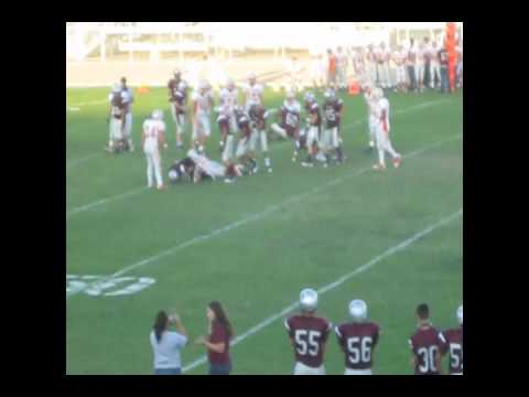 Sefilino Faleafine #43 Independence High School Falcons - Middle Linebacker