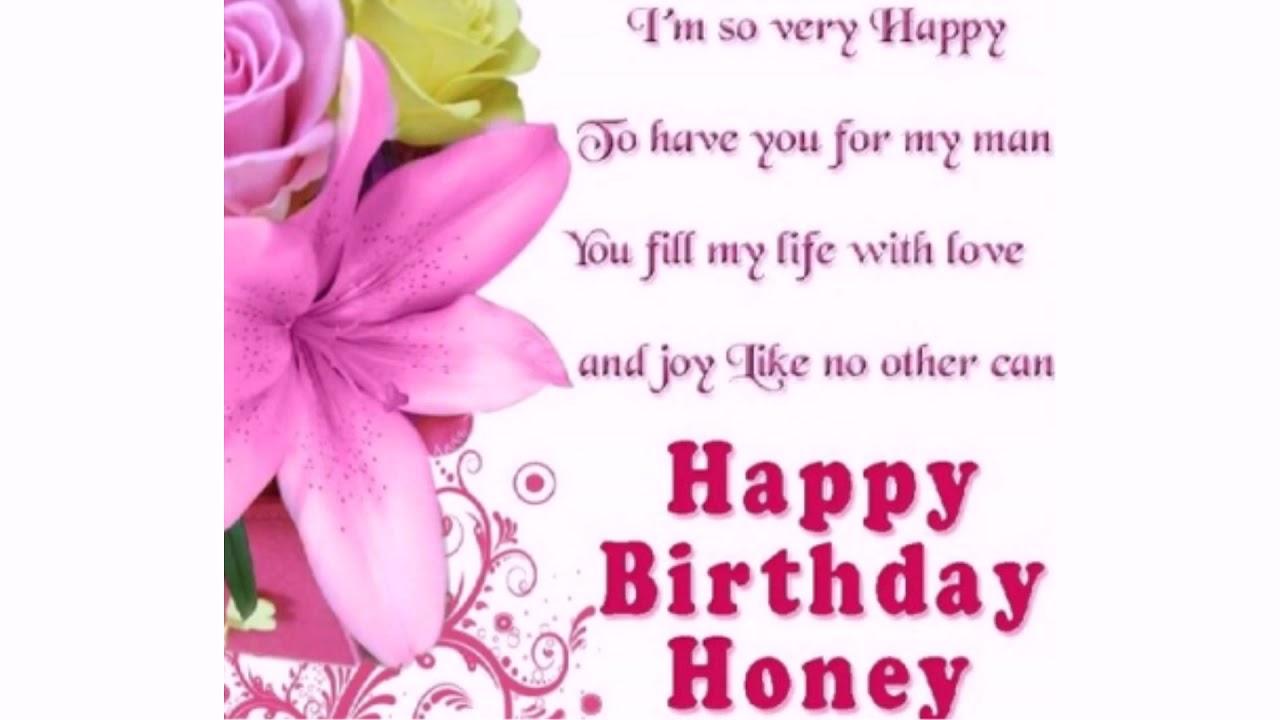 happy birthday honey quotes