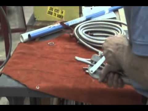 Cutting Flexible Metal Conduit