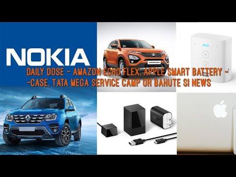 daily-dose---amazon-echo-flex,-apple-smart-battery-case,-tata-mega-service-camp-or-bahute-si-news