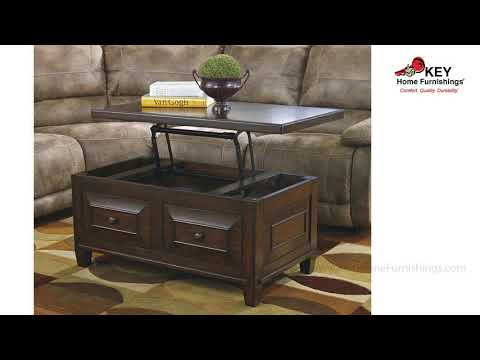 Hindell Park Coffee Table.Ashley Hindell Park Coffee Table With Lift Top T695 9 Key Home