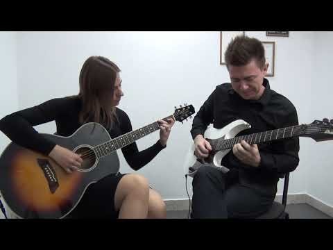 Blue Bossa Guitar Jazz Duet
