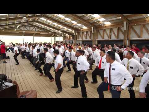 Church unleashes new haka
