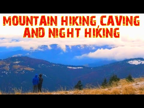 MOUNTAIN HIKING & CAVING In THE CARPATHIANS -  FULL VIDEO