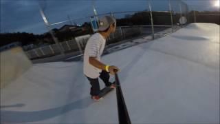 GSP(御所スケートボードパーク)をただただ気持ち良く滑る動画 平岡卓 動画 24
