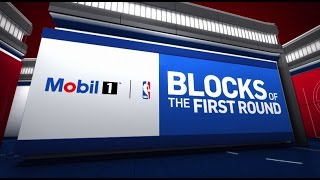 Top 10 Blocks of the First Round | 2017 NBA Playoffs