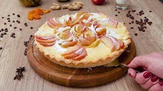Яблочный тарт с заварным кремом - Рецепты от Со Вкусом