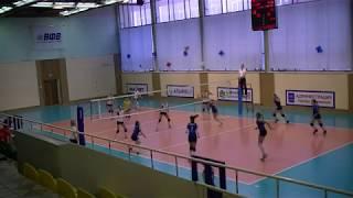Полуфинал первенства России по волейболу. Девушки 2003-2004 г.р.Обнинск 6-12 января 2018г.