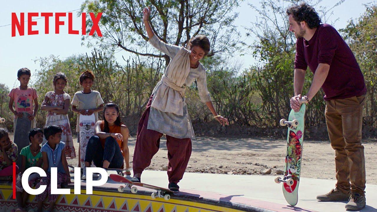 Building A Skate Park For Children | Skater Girl | Netflix India