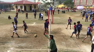 पोखरामा सृजना कप भलिबल #volleyball