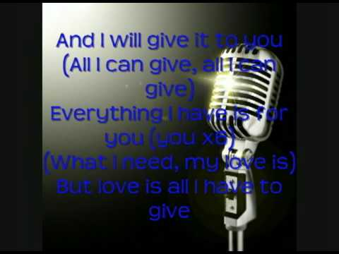 Backstreet Boys - All I Have To Give Lyrics | MetroLyrics