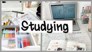 Study with me #1|My Productive Day|Motivation| Учёба летом|Study Motivation|Учись со мной|  ✏