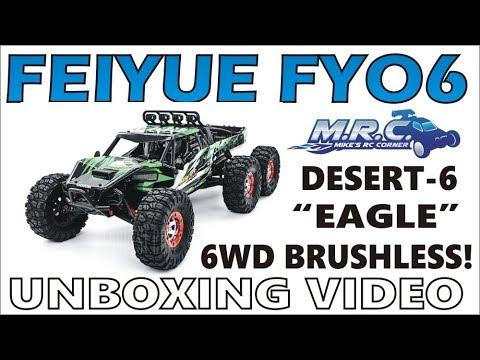 6x6 Brushless Power! FEIYUE FY06 DESERT-6 EAGLE (from Banggood)!  EP#348