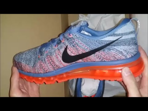 nike-flyknit-air-max-running-shoe-unboxing-wear-on-review
