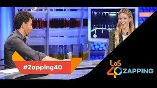 LOS40 Zapping: La frase por la que Shakira no quiso volver a El Hormiguero hasta hoy