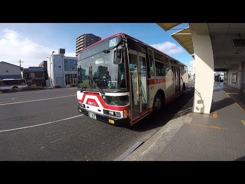 【前面展望】名鉄バス 岩塚線 津島⇒名鉄バスセンター