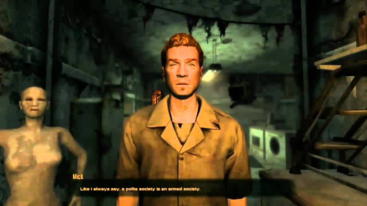 New Vegas Fallout Weapons At Mick And Ralphs Youtube
