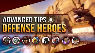 Overwatch Advanced Tips - Useful Animation Cancels for OFFENSE HEROES