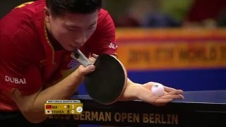 2016 German Open MS-QF Ma Long - Kaii Yoshida (full match|short form in HD)