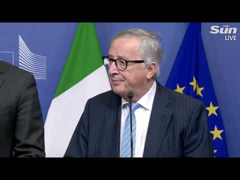 Juncker on Tusk's 'hell' comment