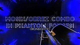 EL COMBO MOSIN OBREZ EN ROBLOX PHANTOM FORCES!! (¡VISTAS DE HIERRO!)