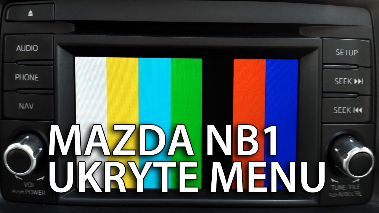 mazda nb1 ukryte menu cx 5 6 diagnostyczny tryb. Black Bedroom Furniture Sets. Home Design Ideas