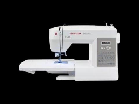 Como enhebrar una maquina de coser singer (SINGER