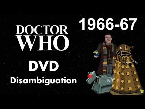 Doctor Who DVD Disambiguation - Season 4 (1966-67)
