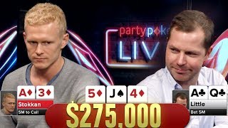He OVERBETS?! Battling To Win $275,000 |  S6p E2 Poker Night Presents