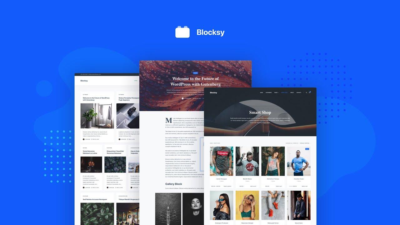 Blocksy - Free WordPress Theme Intro - YouTube