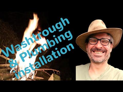 Washtrough and Plumbing Installation